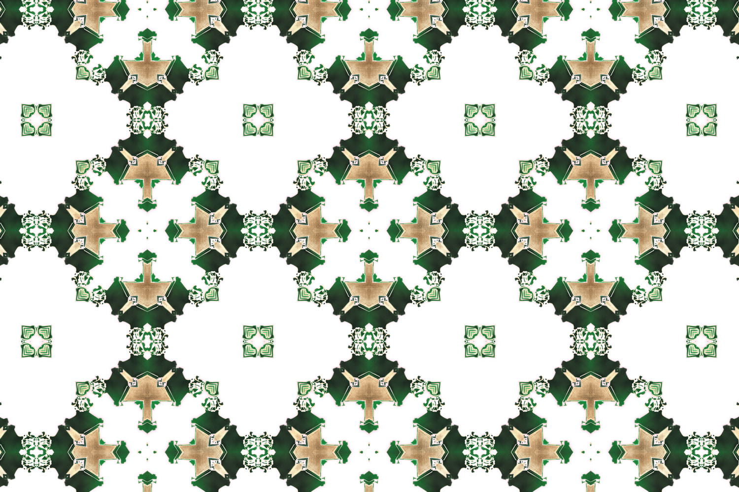 wallpaper los angeles art deco green white gold