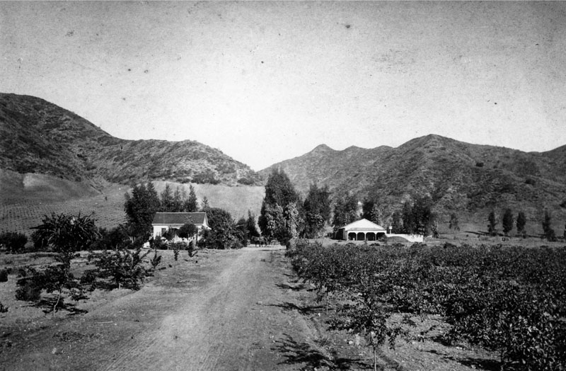 Jacob Miller Farm Hollywood Hills 1870s