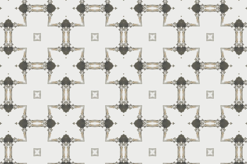 Dido Cream Grey Gold Chinoiserie lattice wallpaper by Pearl and Maude