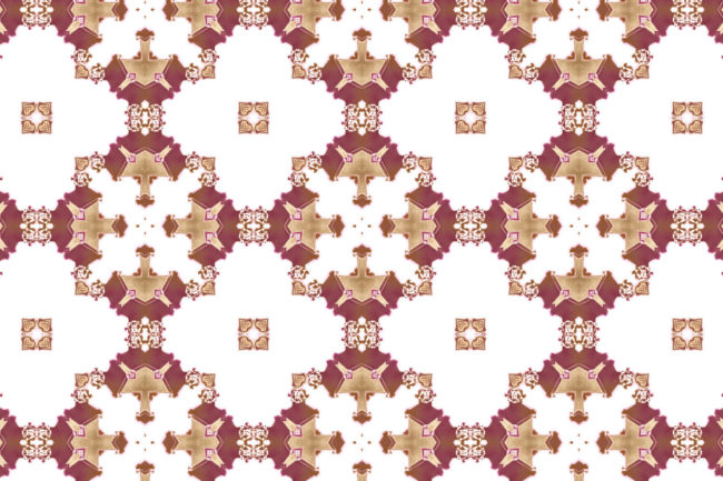 los angeles wallpaper red burgundy gold art deco