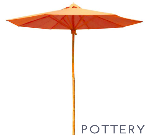 Pottery Umbrella