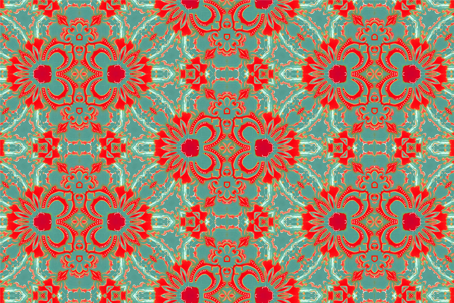 Carmen Pearl and Maude Pattern for Wallpaper, Fabric and Home Goods