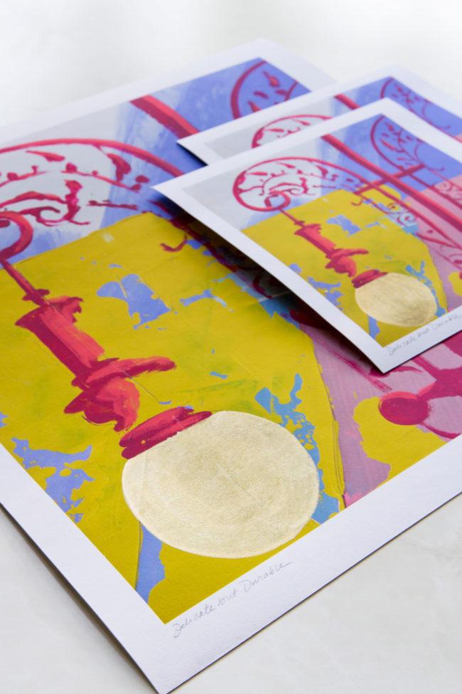 delicate but durable prints