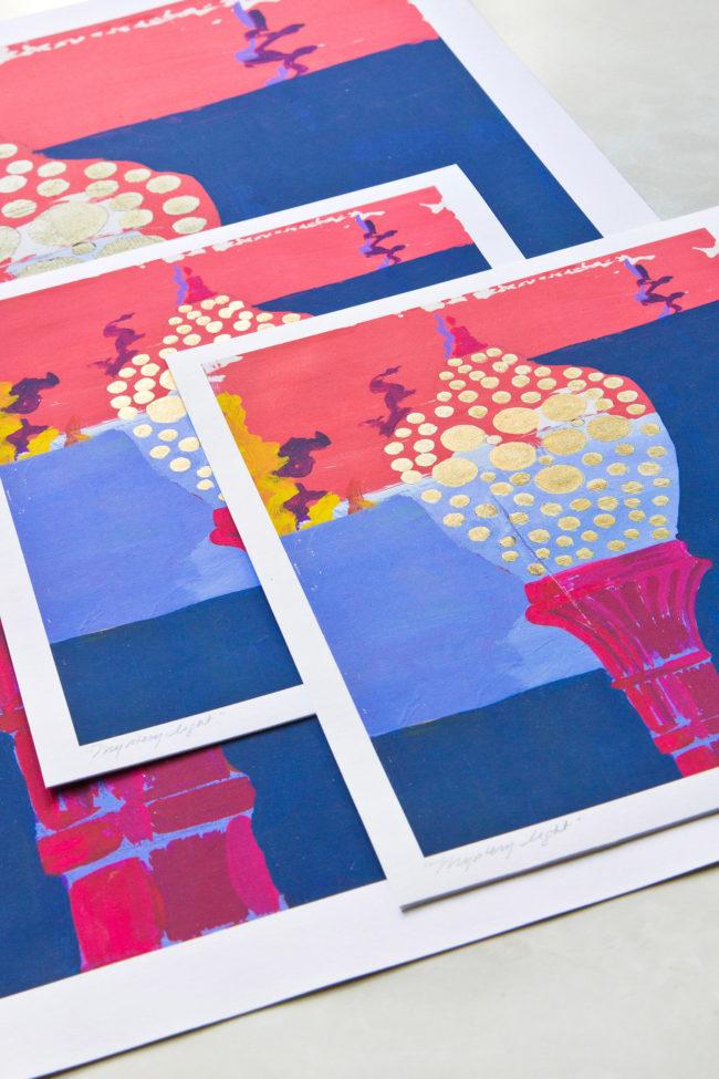 mystery light prints
