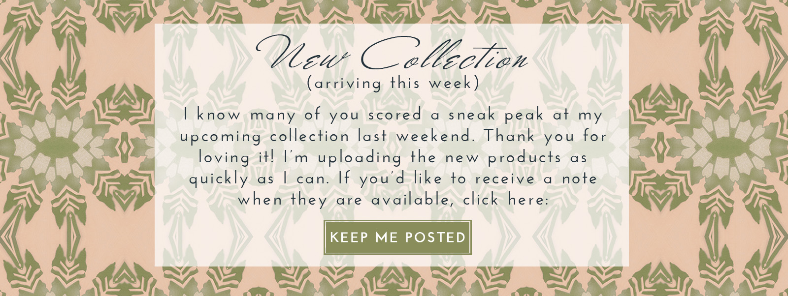 New Pearl & Maude Home Decor Collection Coming Soon